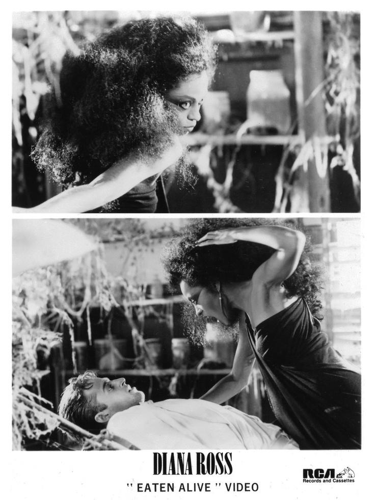 """Diana Ross & Joseph Gian """"Eaten Alive"""" Video (1985)"""
