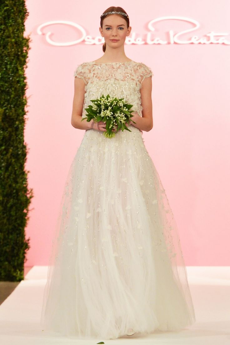 Robe de mariée *m@* Oscar de la Renta  Vestits i complements pel dia ...