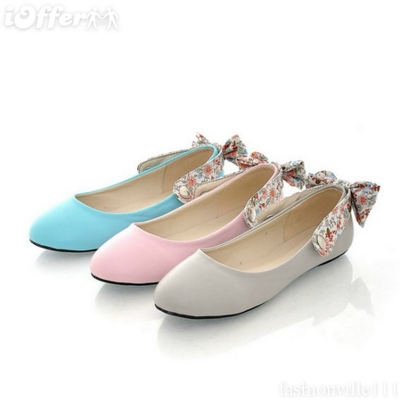 floral bow flats 39 99 ioffer s shoes on