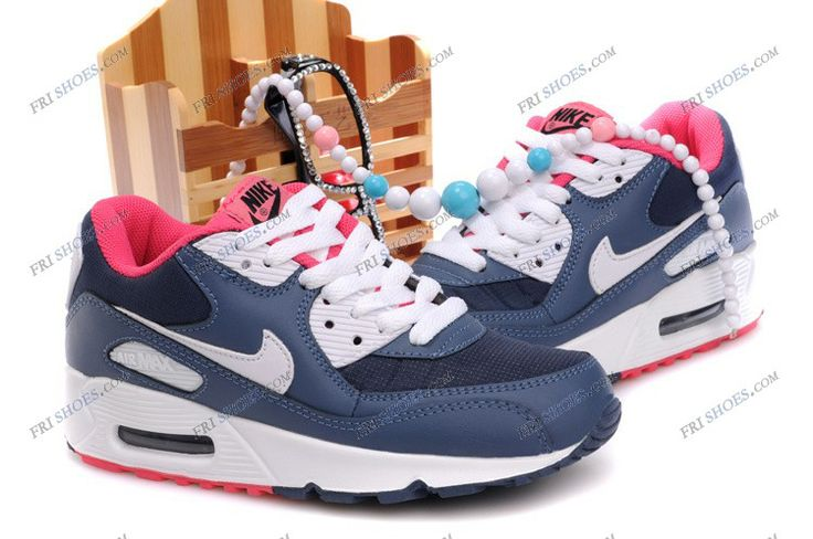 Air Max 90 infrared Blue/Pink Womens walking/running shoes cheapest