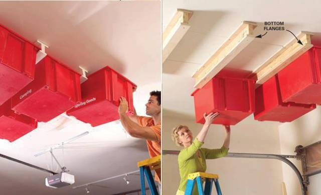 Pin by christy brammer on space savers pinterest - Space saving garage shelves ideas must have ...