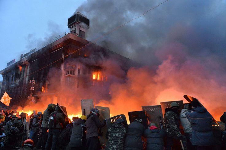 Ukraine Protest  Feb 2014Ukraine Protest 2014