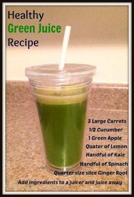 Healthy Slow Juicer Recipes : Healthy Green Juice Recipe