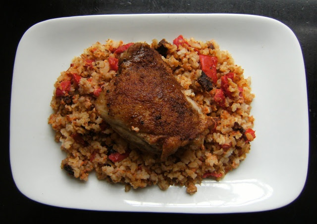 Moroccan-Spiced Chicken With Rice | chicken | Pinterest