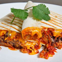 Spicy Pork Bulgogi and Beans Burrito | Eat to live, don't live to eat ...