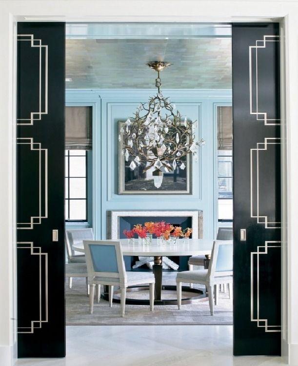 This is NOT 25 Creative Ideas For Using Black Interior Door <3  adm