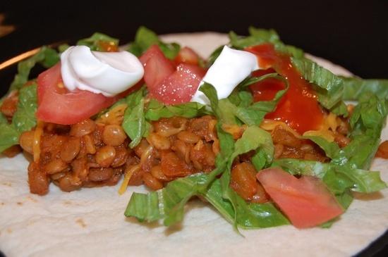 Lentil Tacos - Eat at Home | Beef | Pinterest