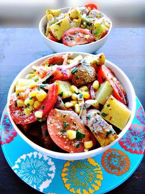 Farmer's market potato salad - Cherry on my Sundae