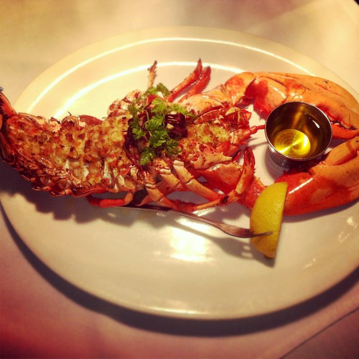 Lobster Thermidor | Louie's Oyster Bar and Grille | Pinterest