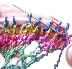 Using a lifeline   KnittingHelp.com - How to Knit