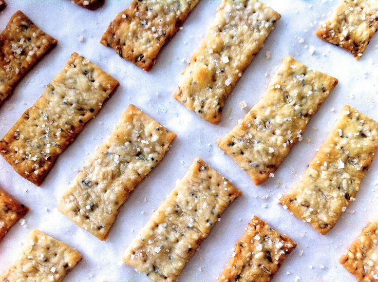 Crispy Fennel Seed Flatbread Crackers | Favorite Recipes | Pinterest