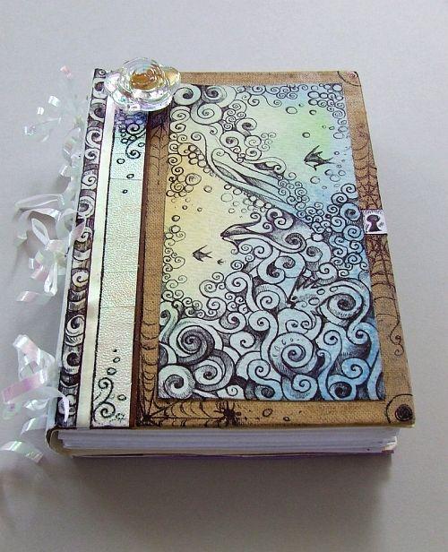 Unique Book Cover Art ~ Beautiful book cover dear diary pinterest
