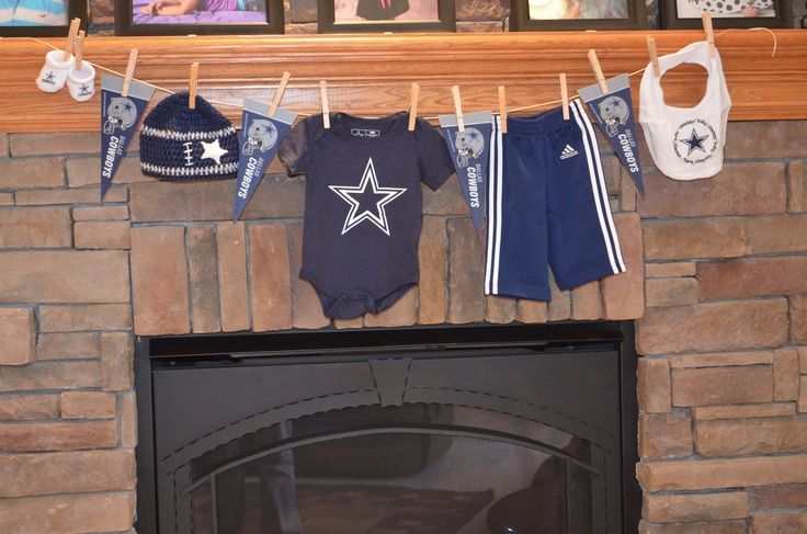 dallas cowboys baby shower ideas