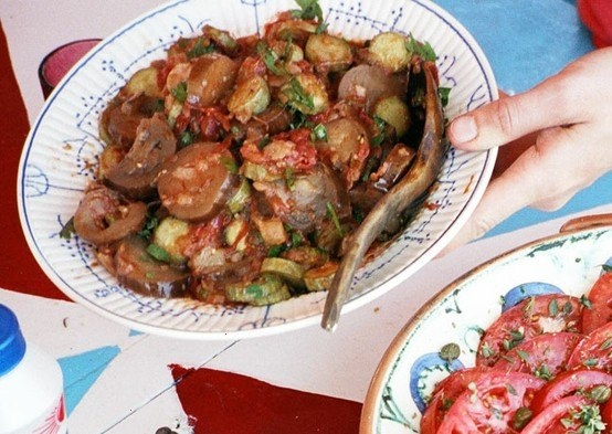 Eggplant With Tomato, Garlic And Mint Recipes — Dishmaps