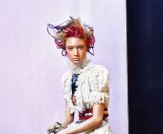 Wispy Multicolor hairdos #hairstyles