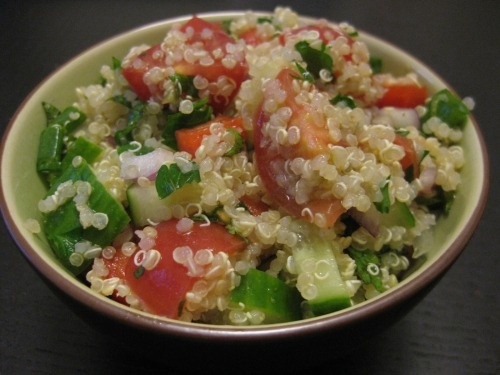 Spicy Carrot Tabbouleh Recipe — Dishmaps
