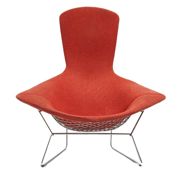 Knoll bertoia bird lounge chair just as a matter of idle curiosity