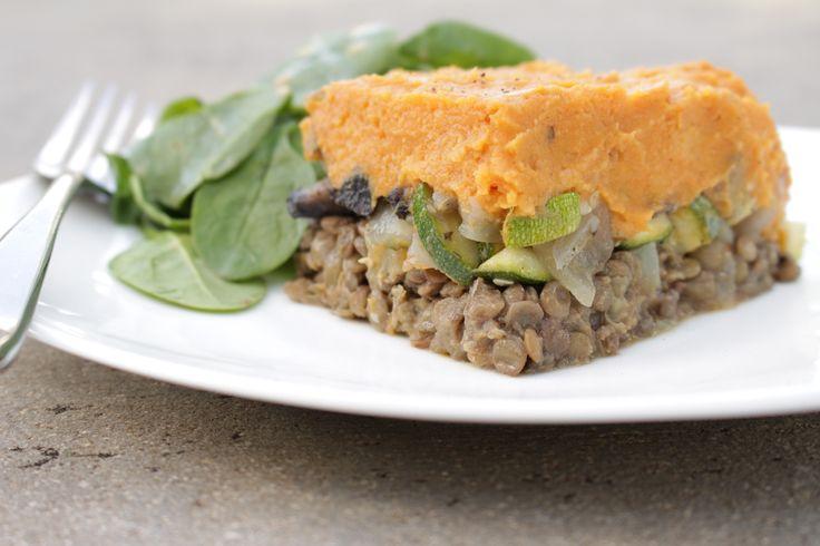 Lentil & Sweet Potato Shepherd's Pie - Conscious Cooking | Conscious ...