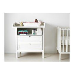SUNDVIK Wickeltisch/Kommode - IKEA BABY IDEAS Pinterest