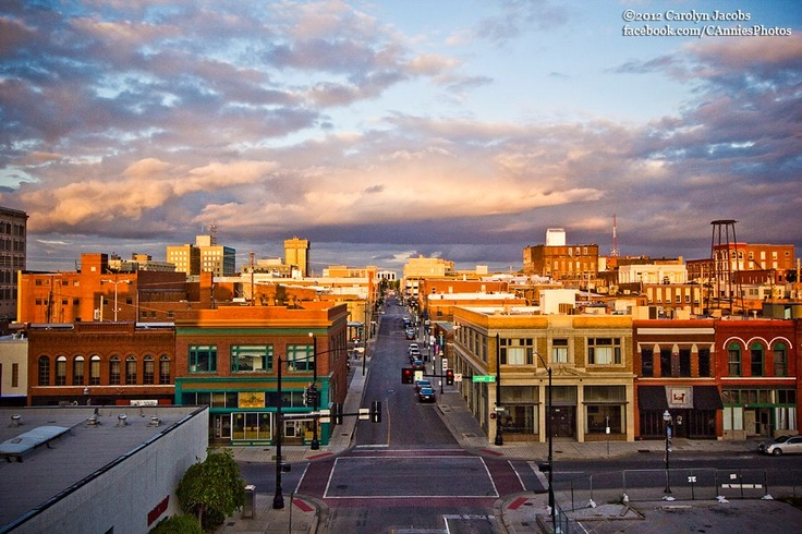 Sunset Downtown Springfield Mo Life In The Ozarks