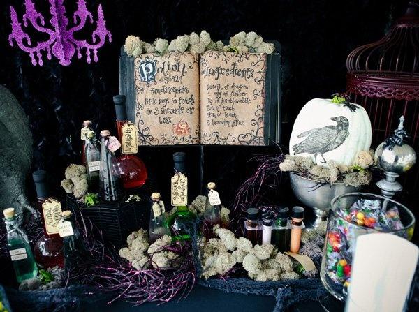 Halloween Wedding Decoration Idea