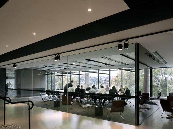 Conneq Boardroom Australian Interior Design Awards                                  TECHO