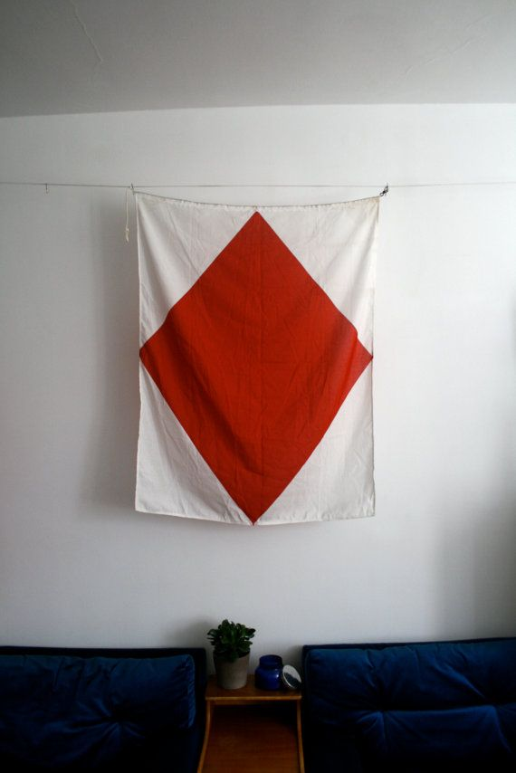 flag with red and white stripe