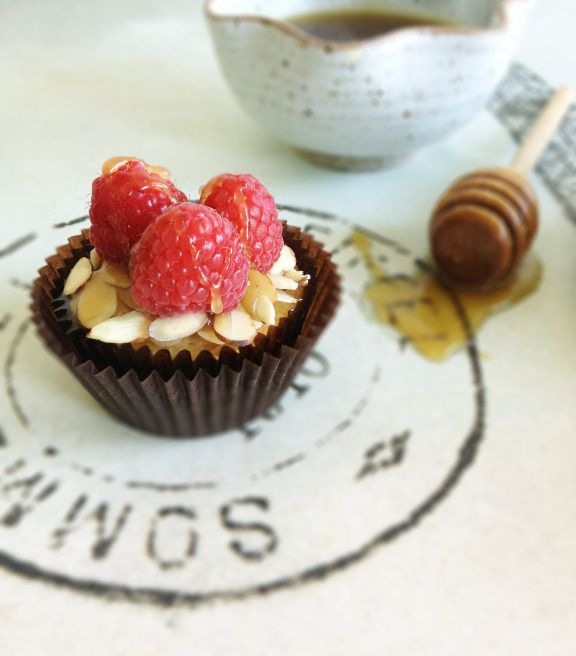 Jasmine Cupcakes With Raspberry And Honey Recipes — Dishmaps