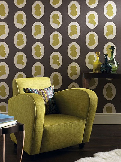 Classic Glam: Luxurious Metallic, Textured & Patterned Wallpapers Decor Styles Source List