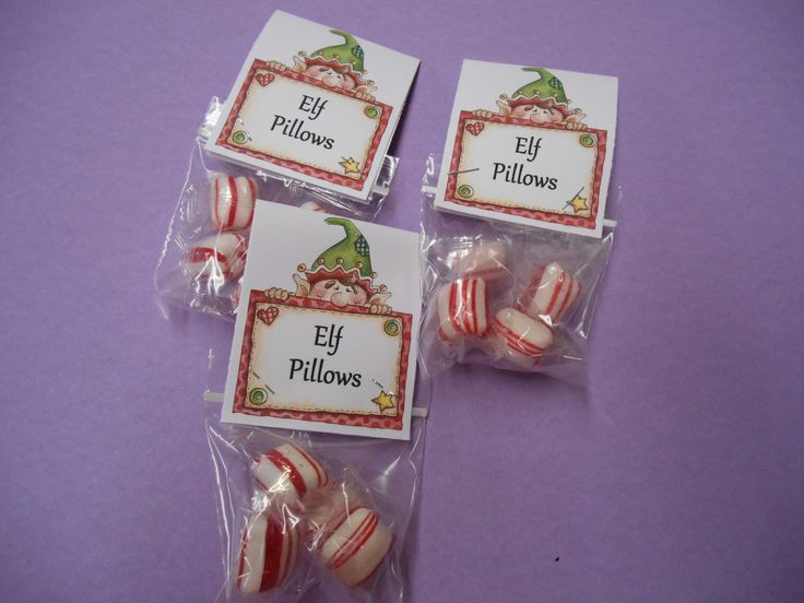 Elf Pillows Mint ChristmasTreat | My Creations | Pinterest