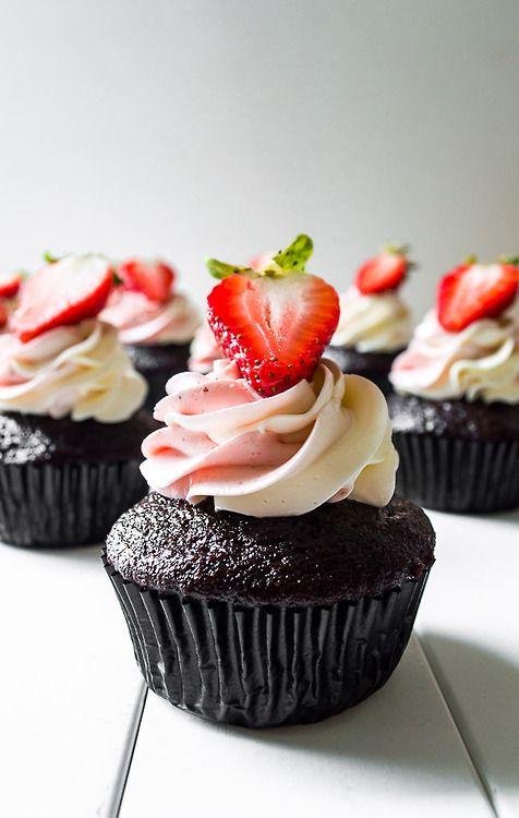 Neapolitan cupcakes | Cupcakes | Pinterest