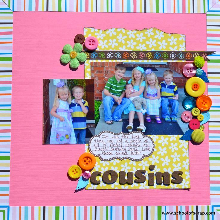 Scrapbook Quotes About Cousins - 107.4KB