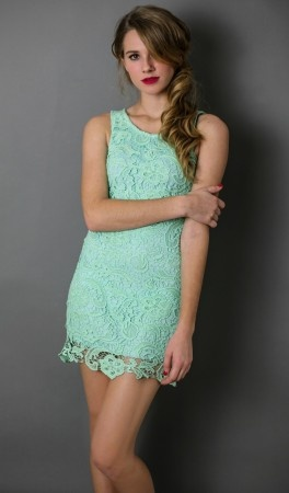 Lace & Mint. Yes, please! :)