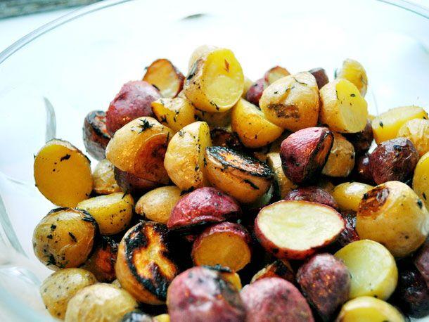 Greek Lemon Thyme Potatoes | Serious Eats : Recipes