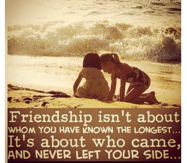 Friendship :) so true!!!