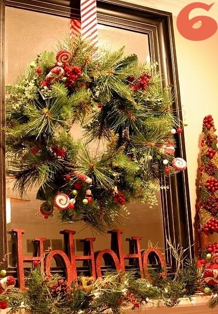 24 Christmas Mantel Ideas » | holly jolly decor! | Pinterest