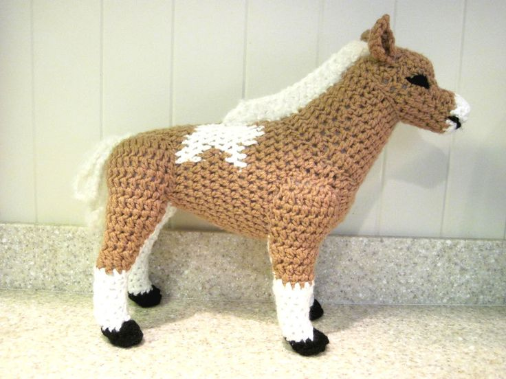 Free Pattern Crochet Horse Pillow Miniature Horse PDF ...