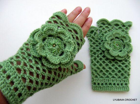 Crochet pattern fingerless gloves crochet pattern crochet arm war