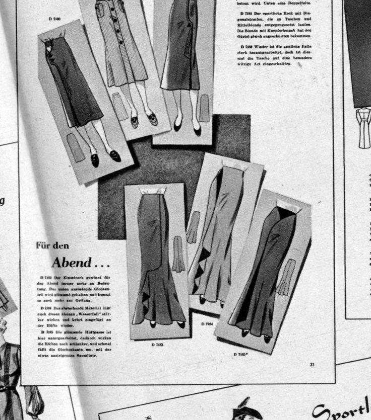 vintage models from 1933