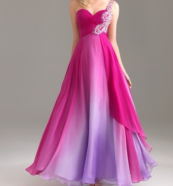 pink and purple prom dresses - Dress Yp