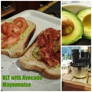 BLT with Avocado Mayonnaise | food | Pinterest