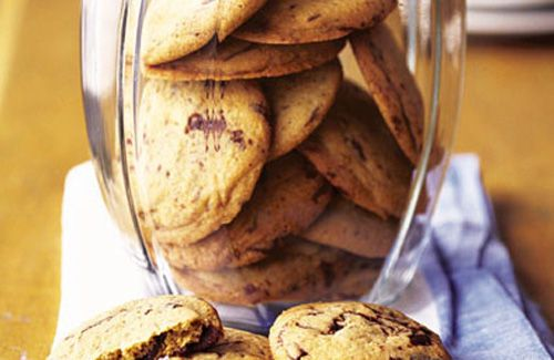 Chocolate chip cookies | food | Pinterest