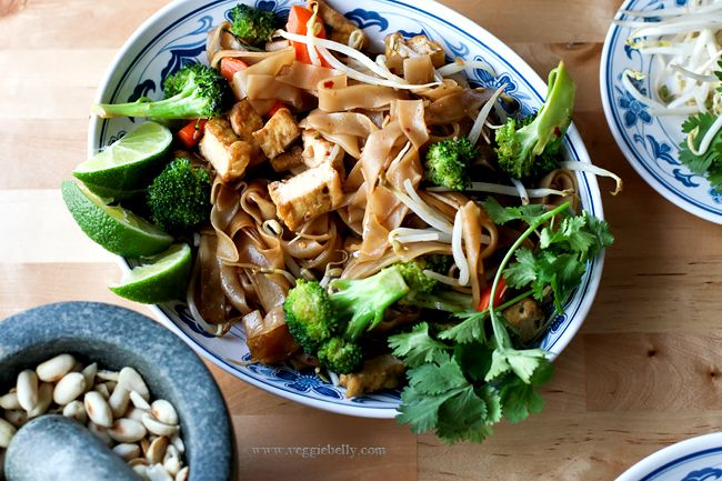 Easy Vegetable Pad Thai Recipe serves 2-3 Ingredients for the sauce 3 ...