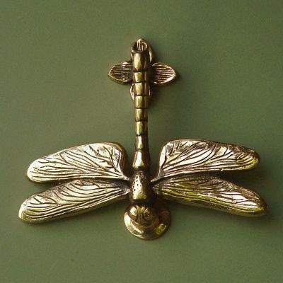 Brass dragonfly door knocker door knockers and knobs pinterest - Dragonfly door knockers ...