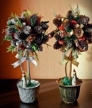 Деревья новогодние своими руками