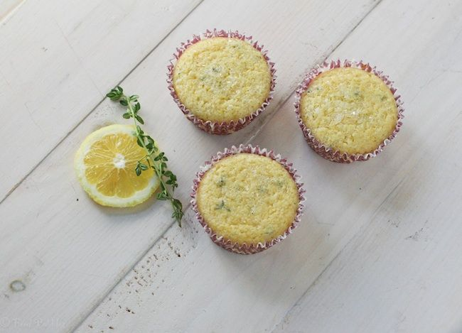Post image for Lemon Thyme Muffins – #MuffinMonday