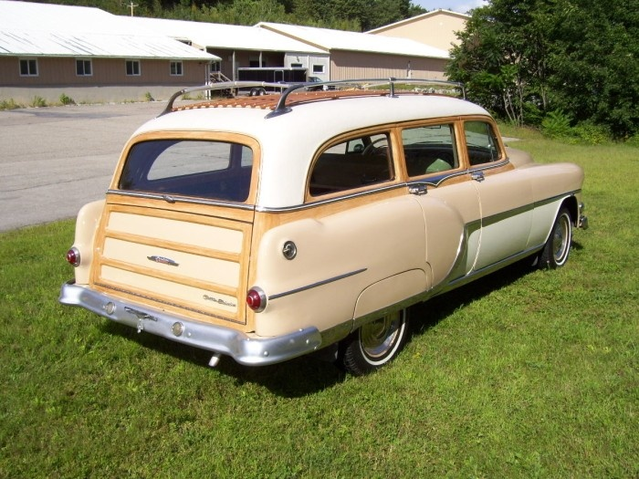 1954 Pontiac Chieftain Wagon Images Frompo