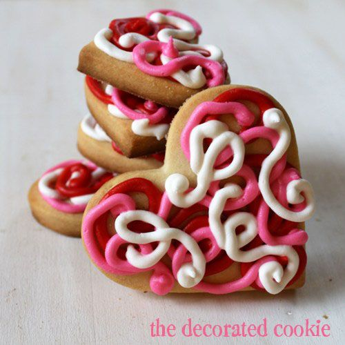 valentine's day cookie lollipop
