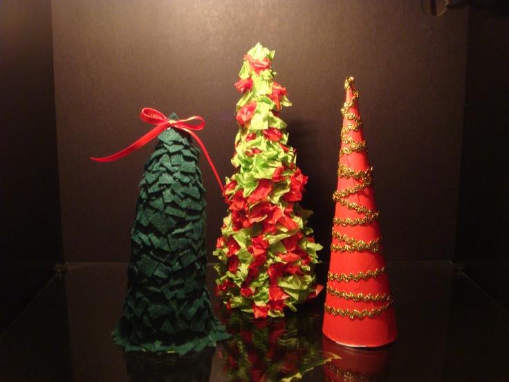 Mini Christmas Tree Decorations Eat It Pinterest