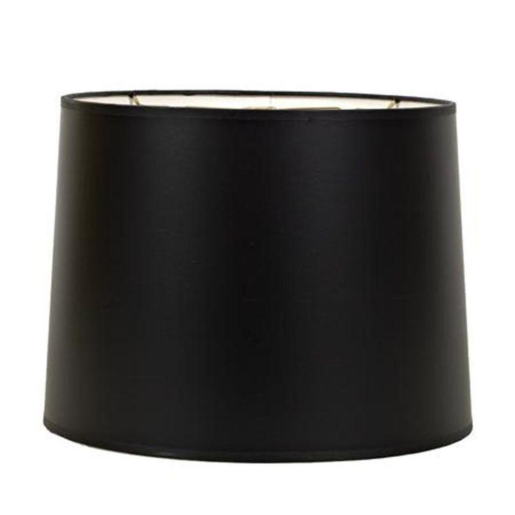 18 black paper new drum lamp shade. Black Bedroom Furniture Sets. Home Design Ideas